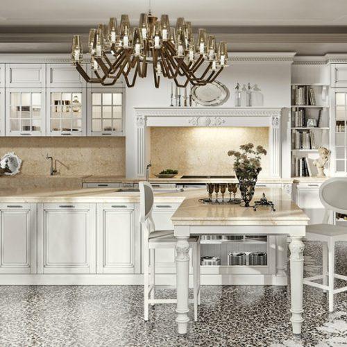 Cucine in stile classico, negozio di arredo mobili Bologna
