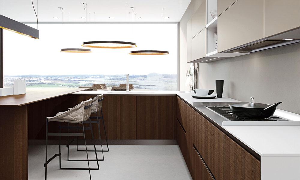 Cucina contemporanea dal design flessibile for Cucina moderna tecnologica