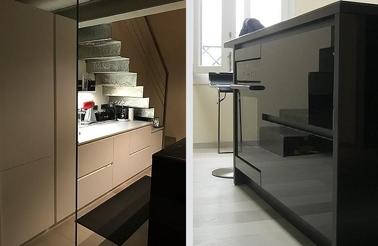 Berozzi home soluzioni per l 39 arredamento su misura - Cucina compatta ...