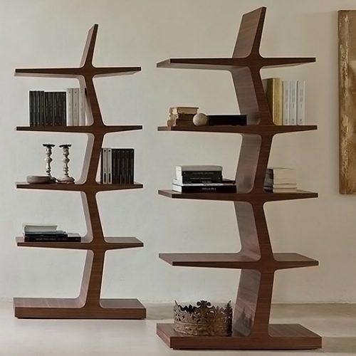 Librerie per la zona giorno dal design inconfondibile